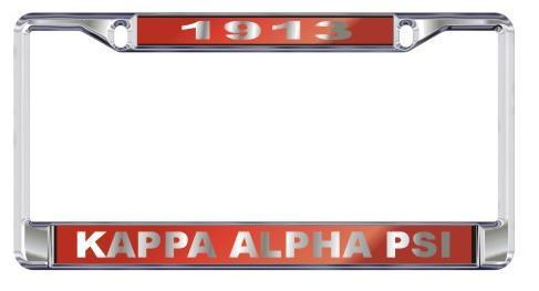 License Plate Frame with Year - Craftique - Campus Connection - 6