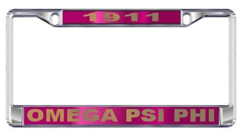 License Plate Frame with Year - Craftique - Campus Connection - 7