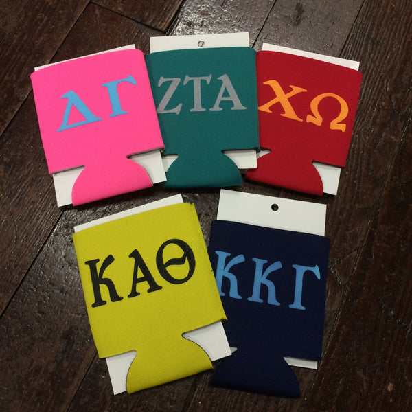 Sorority Koozie - Wholesale Greek - Campus Connection - 1