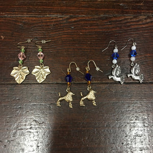 Charm Earrings - Custom Creations - Campus Connection