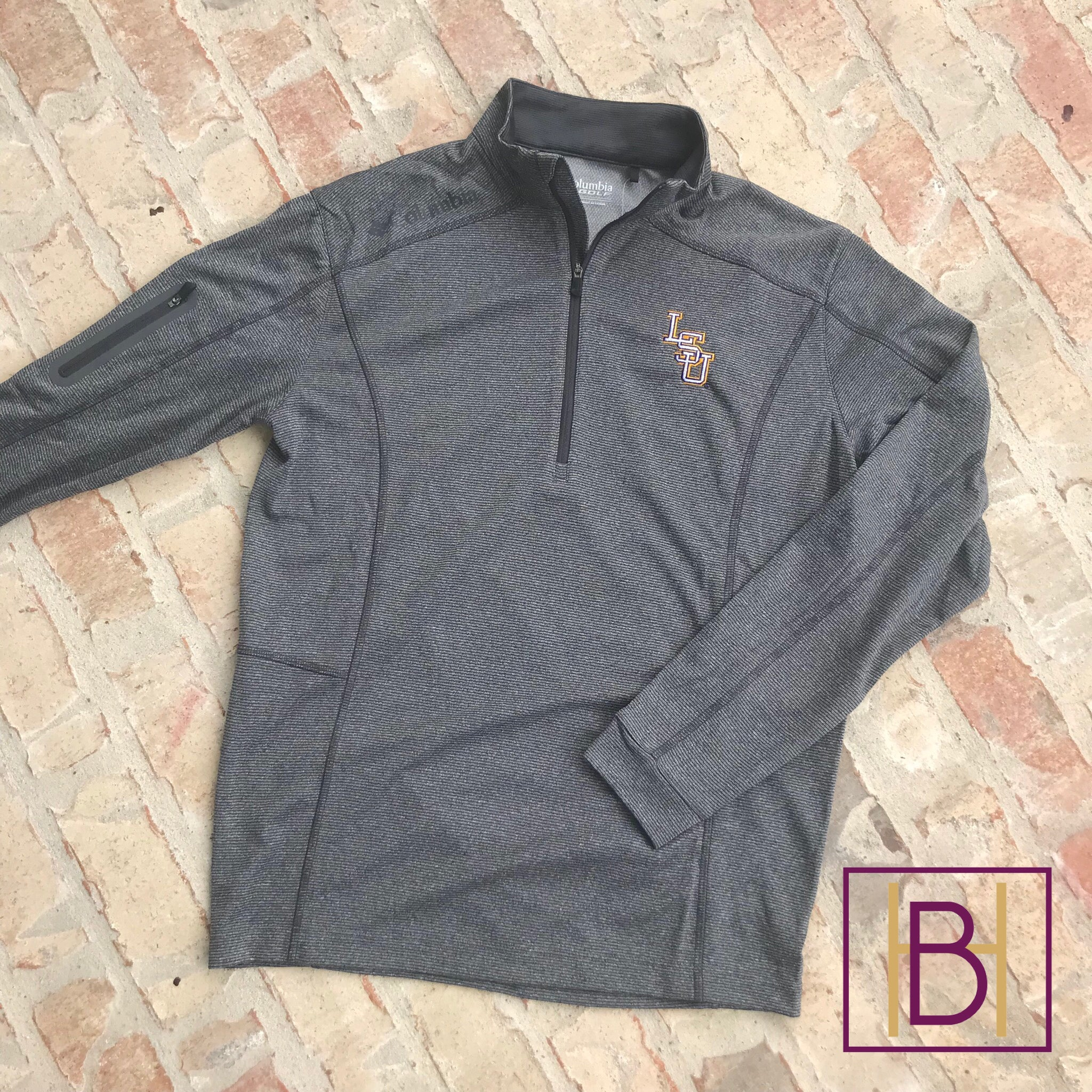 LSU Columbia Shotgun Quarter-Zip