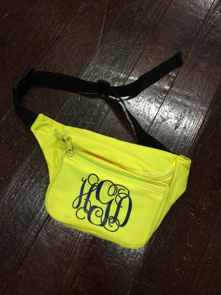 Monogrammed Fanny Pack - Campus Connection - Campus Connection - 5