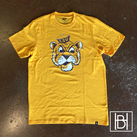Beanie Mike LSU Scrum Tee - Gold