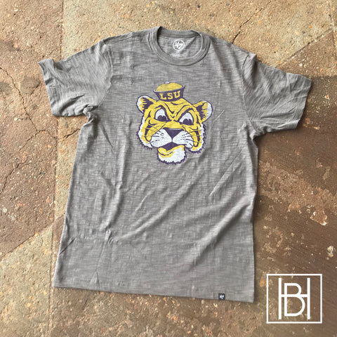 Beanie Mike LSU Scrum Tee - Gray