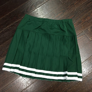Gameday Cheer Skirt - Green - Teamwork Athletic - Campus Connection