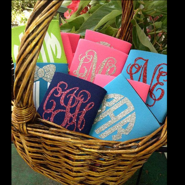 Monogrammed Koozie - Campus Connection - Campus Connection - 1
