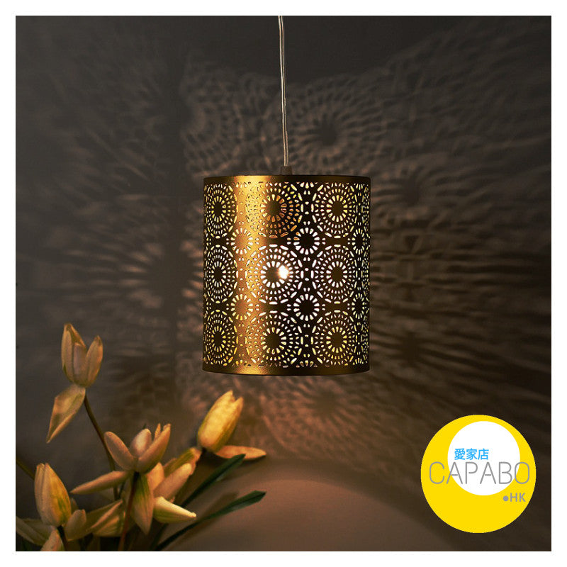 Capabo Antique Filgree Hanging Moroccan Ceiling Lamp /Pendant