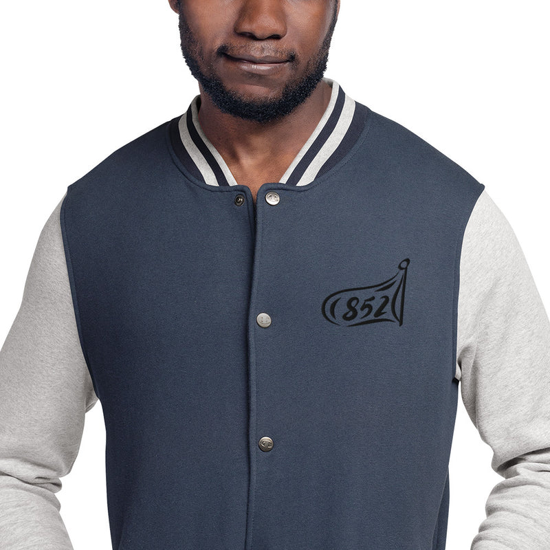 852 Flag Champion Bomber Jacket (Embroidered)