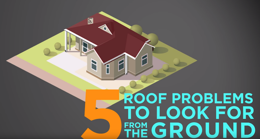 5 Roof Problems to Check from the Ground