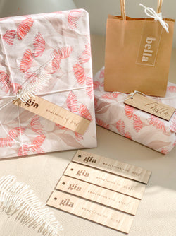 "Personalised ""Something You"" Gift Tag Set"