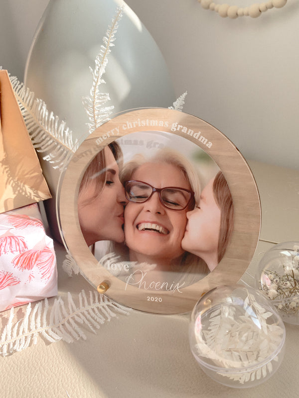 Personalised Circle Frame