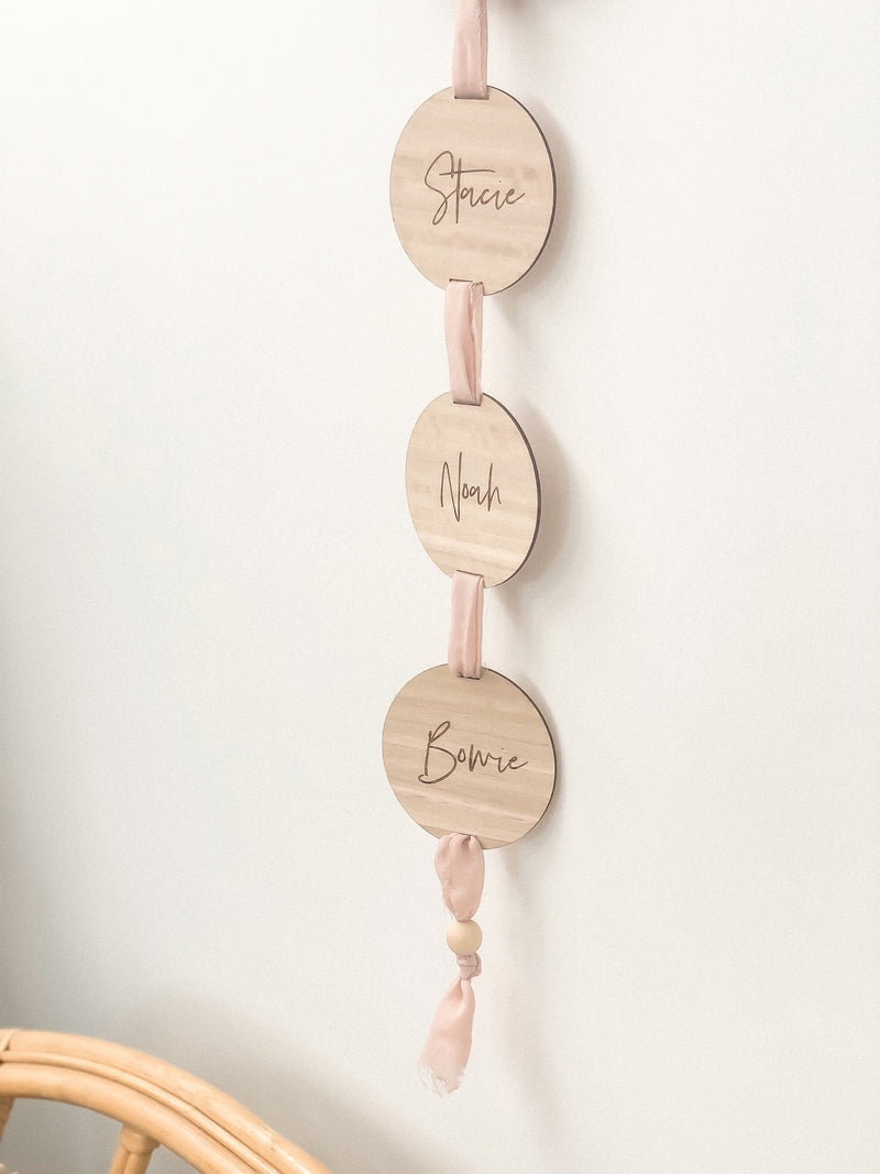Family Wall Chain - The Little Details Design Boutique