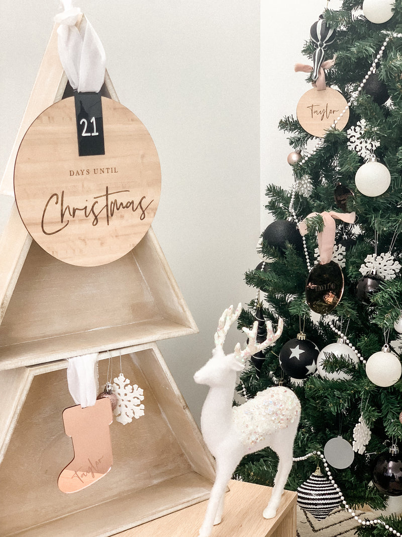Christmas Countdown - The Little Details Design Boutique