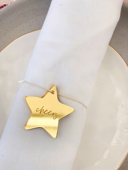 Napkin Place Cards - The Little Details Design Boutique