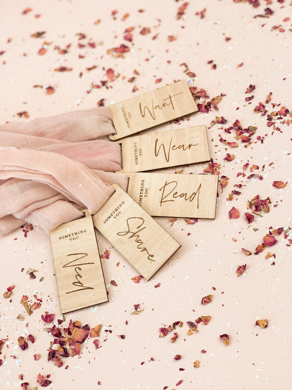 """Something You"" Gift Tag set - The Little Details Design Boutique"