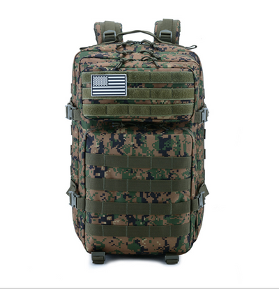 55 Liter Camouflage Hiking Tactical Outdoor Backpack for Men and Women