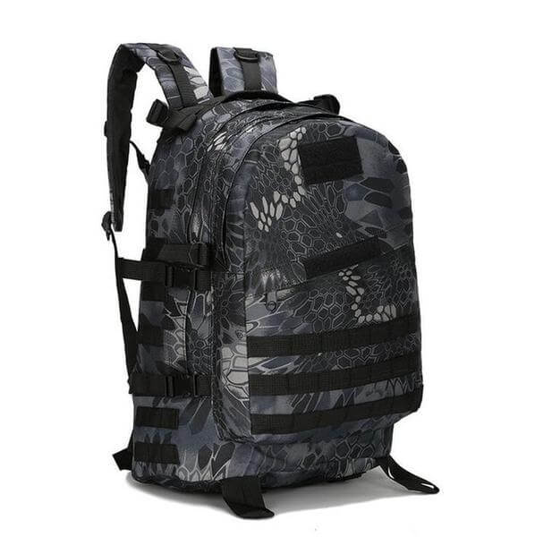 55 Liter Camouflage Hiking Outdoor Tactical Bag Backpack