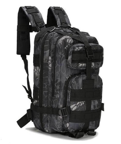 Camouflage Lightweight Hiking Outdoor Tactical Rucksack Bag Backpack