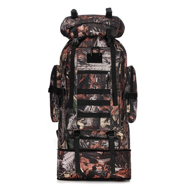 70 Liter to 100 Liter Military Tactical Army Hunting Outdoor Camouflage Backpack