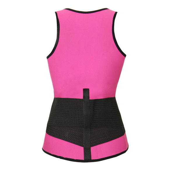 SWEAT SAUNA VEST (PINK )