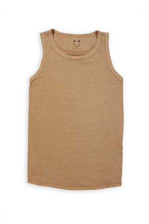 Organic Cotton Short Sleeve Tank Top Orche