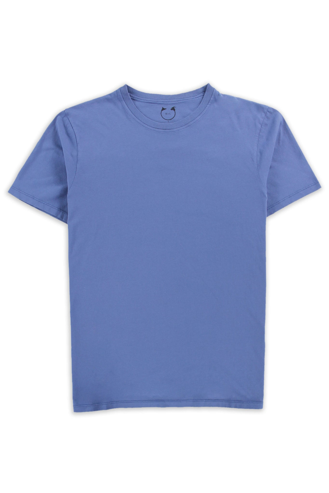 Organic Cotton Short Sleeve Crew Sassafras