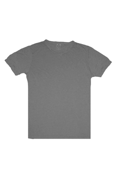 "Julius V-Neck ""Dark Silver"""