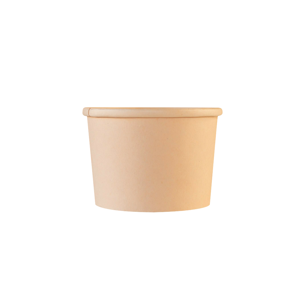 8 oz. Bamboo Fiber Soup Container