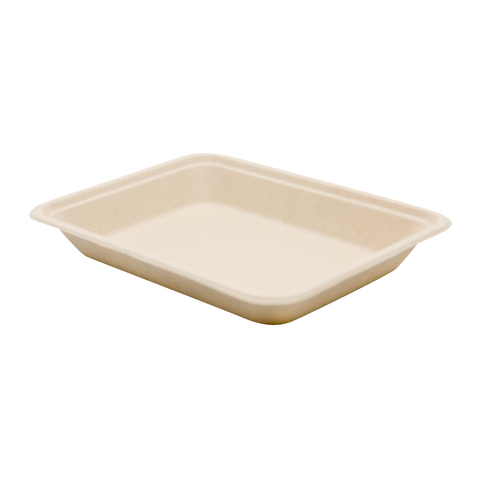 "7.5"" Wheat Straw Tray"