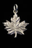 Sterling Silver Maple Leaf Pendant