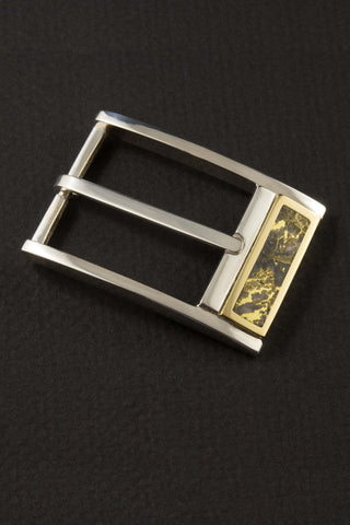Gold Quartz Belt Buckle