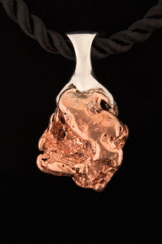 Copper Nugget Pendant