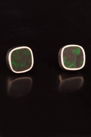 Maw Sit Sit and Sterling Silver Stud Earrings