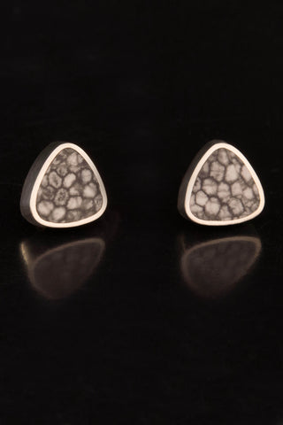 Stingray Coral Stud Earrings