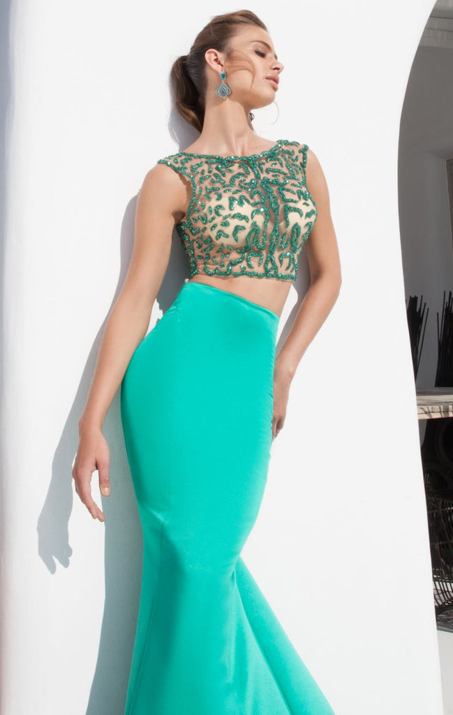 f05de075996e Tarik Ediz 92643 Two Piece Mermaid Dress – SULTANA DRESS