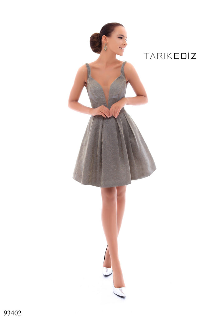 Tarik Ediz 93402 Short Dress