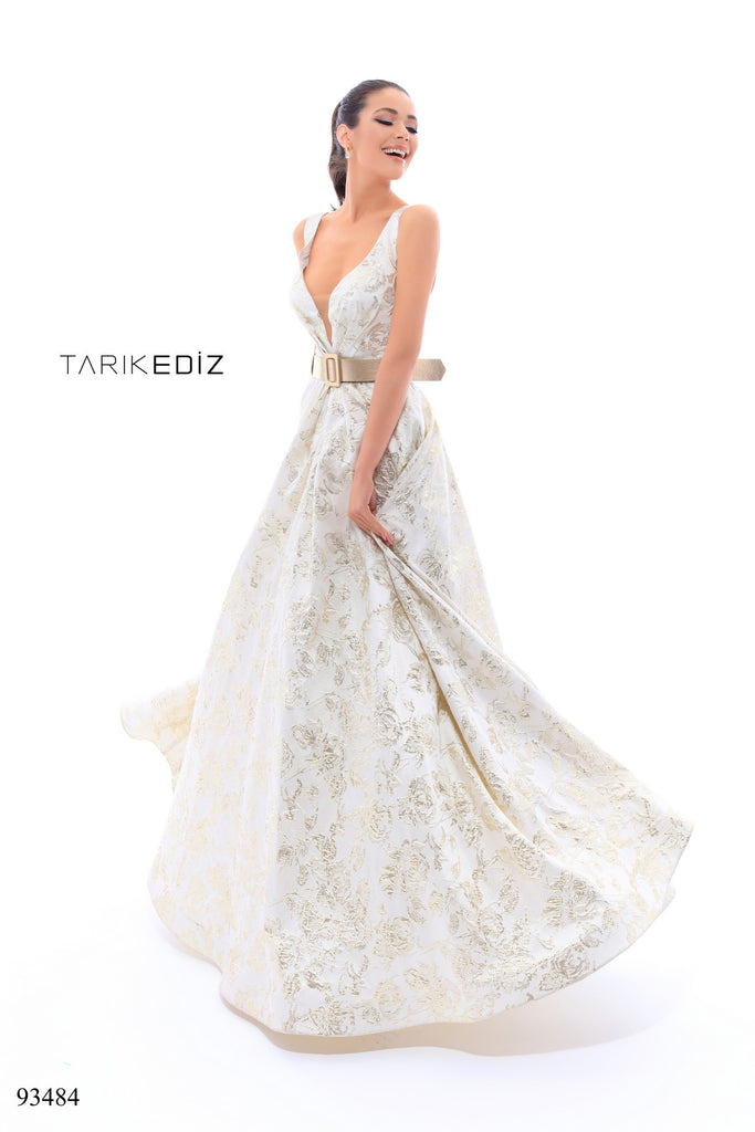 Tarik Ediz 93484 Evening Dress