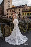 Tarik Ediz 93600 Lace Fitted Bridal Dress