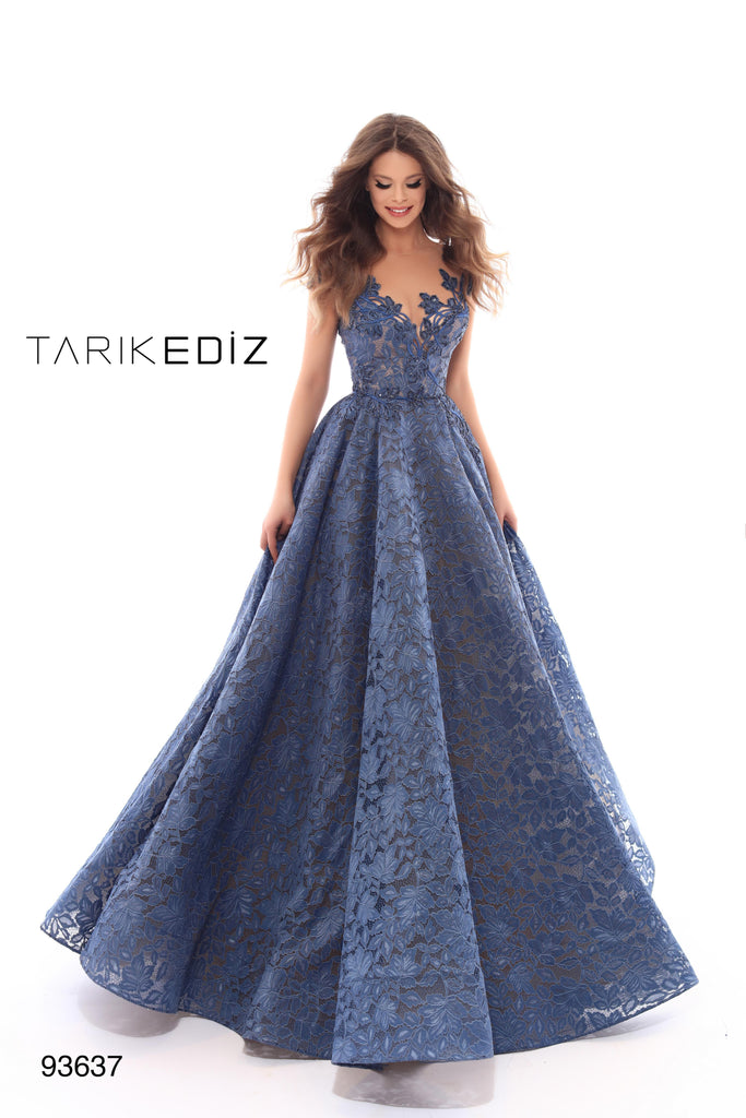 Tarik Ediz 93637 Evening Dress
