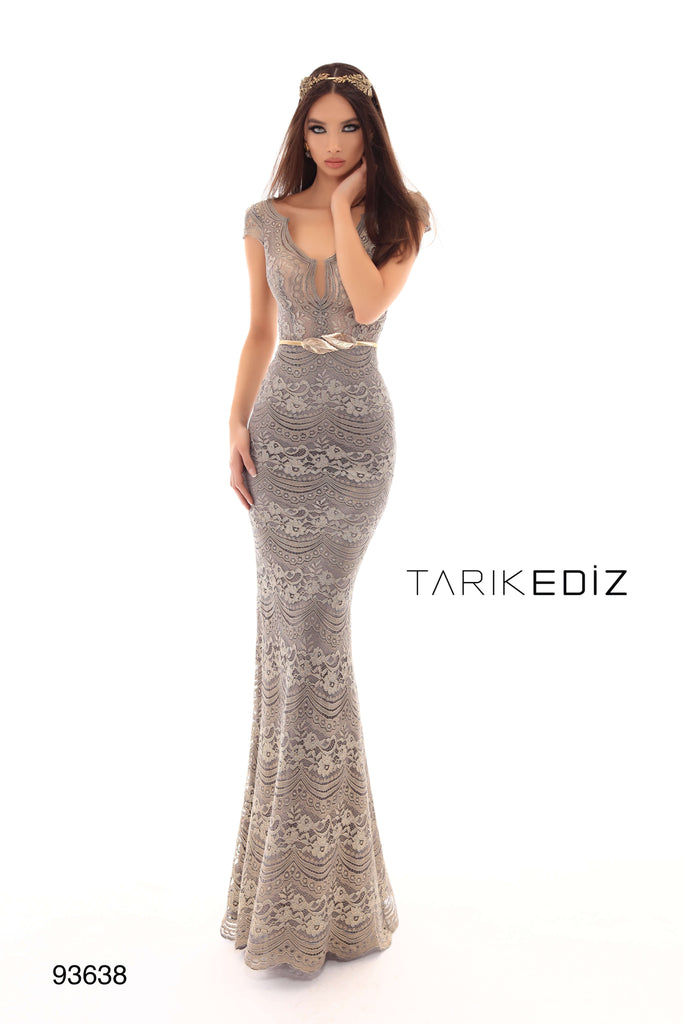 Tarik Ediz 93638 Evening Dress