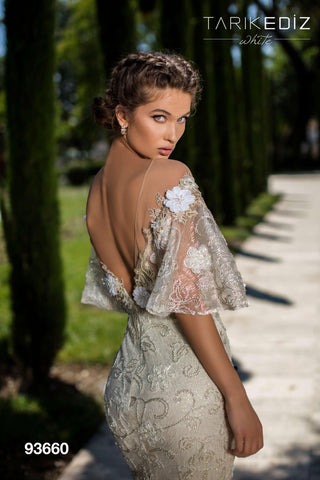 Tarik Ediz 93660 Wedding Dress