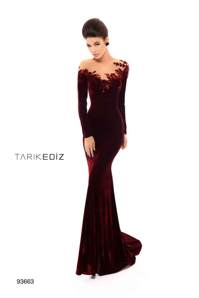 6cdd81dd9771 Tarik Ediz 93663 Evening Dress – SULTANA DRESS
