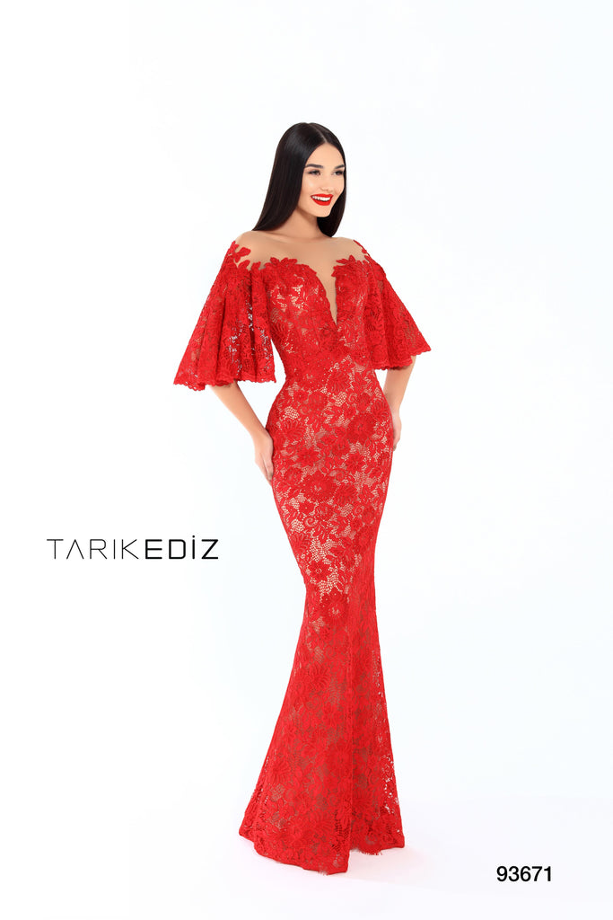 Tarik Ediz 93671 Evening Dress