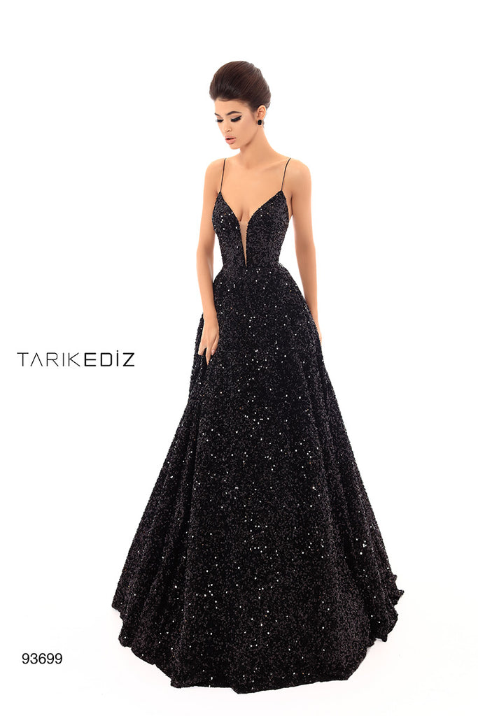 Tarik Ediz 93699 Evening Dress
