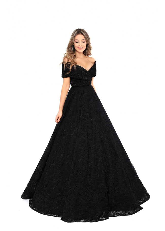 Tarik Ediz 93712 Evening Dress