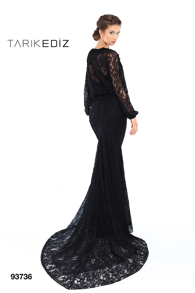 Tarik Ediz 93736 Evening Dress