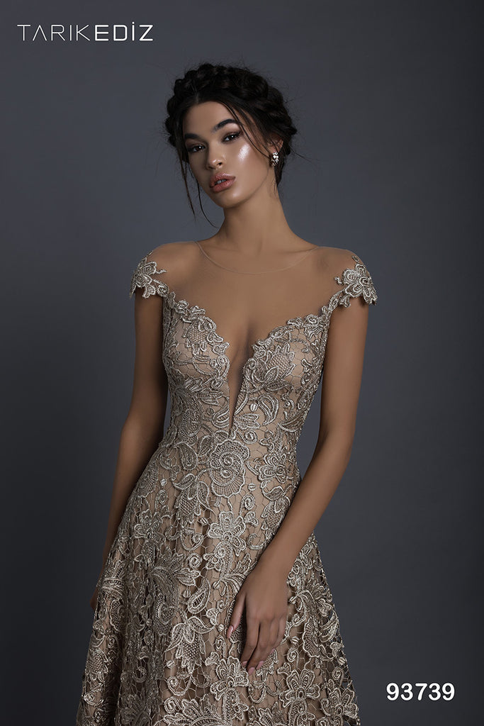 Tarik Ediz 93739 Evening Dress