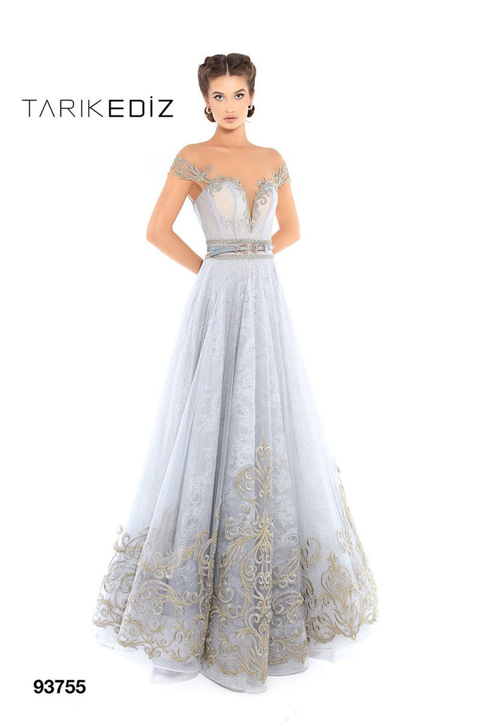 Tarik Ediz 93755 Evening Dress