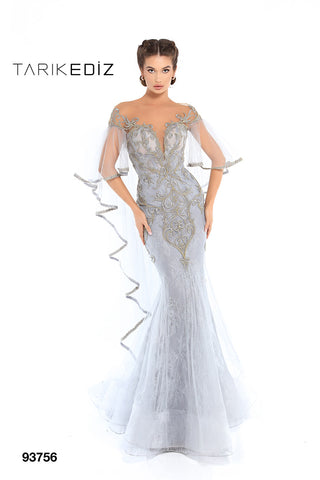 Tarik Ediz 93756 Evening Dress
