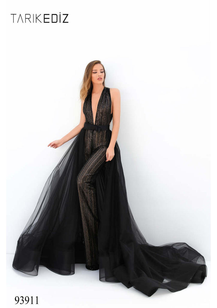 Tarik Ediz 93911 Evening Dress